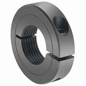 One-Piece Threaded Clamping Collar Recessed Screw, Black Oxide Steel, TC-112-07