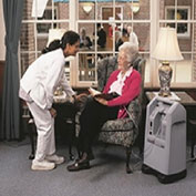 AirSep AS099-101 NewLife Intensity 10 LPM Oxygen Concentrator Single Flowmeter and Oxygen Monitor