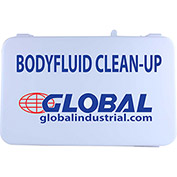 Global Industrial Body Fluid Kit Refill, 9 Pieces