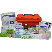 Custom Kits Company Captains Marine First Aid Kit, Plastic Case, 279 Pieces