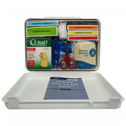 First Aid Kit, 25 Person, ANSI Compliant, Class A, Type 1 & 2