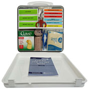 First Aid Kit, 50 Person, ANSI Compliant, Class A, Type 4