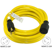 Conntek 20552, 50', 20A,  Locking System Extension Cord with NEMA L5-20P/R