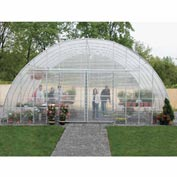Clear View Greenhouse Kit 30'W x 12'H x 72'L - Natural Gas