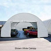 Standard 30'W Solid End Panel - Green for Econoline buildings