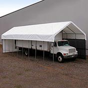 Daddy Long Legs Canopy 1250RV10W10, 12'W x 50'L, White