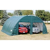 Storage Master Classic Plus Garage 26'W x 12'H x 24'L Green