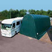 Northstar Garage 18'W x 16'H x 40'L Green