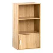 OneSpace Small Modern Office Bookshelf - Oak