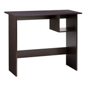 "OneSpace Modern Office Desk with Storage - 35"" - Espresso"