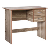 "OneSpace Modern Office Desk with Drawers - 35"" - Walnut"