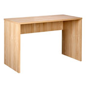 OneSpace Large Modern Writing and Computer Desk - Oak
