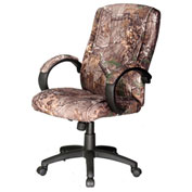 Comfort Products Realtree Padded Camouflage Executive Chair