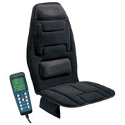 Comfort Products 10 Motor Massage Cushion With Heat Black