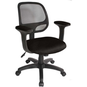 Breezer™ Mesh Office Task Chair with Arms