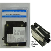 "Siemens® VPKICBQ115 Interchangeable 1"" Circuit Breaker 1-Pole 15A Clamshell Packaged"