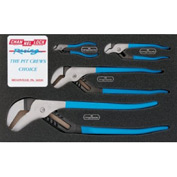 Channellock® PC-1 4 Piece Pro's Choice Straight Jaw Tongue & Groove Plier Set
