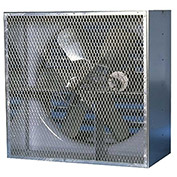 "Canarm XBL36CBS10050 36"" Belt Drive Single phase Wall Fan  1/2HP 9870 CFM"
