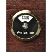"CSL 444BR-1MWAC Door View Manager, Brass, 2"" x 6"" x 8"""