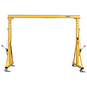 Contrx Telescopic Height Gantry Crane, 4000 Lb. Capacity, 16