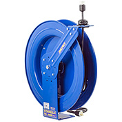Coxreels EZ-PC24-0012-A Safety Series Spring Rewind Power Cord Reel: Single Recept 100' Cord 12 AWG