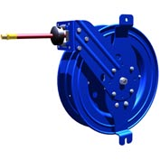 """Side Mount Reel w/ Guide Arm 1/4""""X25' 300PSI Air/Water, General Industrial Applications"""