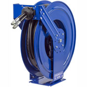"Coxreels TDMPL-N-350 3/8"" I.D. 50' Dual Hydraulic Spring Retractable Hose Reel 3000 psi w/out Hose"
