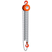 CM Series 622 Hand Chain Hoist, 2 Ton Cap., 10Ft. Lift