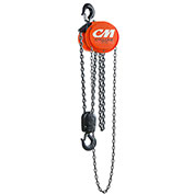 CM Cyclone Hand Chain Hoist, 3 Ton, 10 Ft. Lift