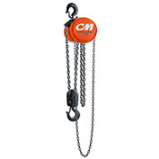 CM Cyclone Hand Chain Hoist, 4 Ton, 10 Ft. Lift