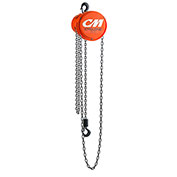 CM Cyclone Hand Chain Hoist, 1/4 Ton, 15 Ft. Lift