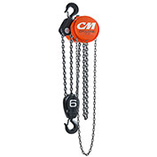 CM Cyclone Hand Chain Hoist, 6 Ton, 20 Ft. Lift