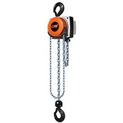 CM Hurricane 360° Hand Chain Hoist, 3 Ton, 15 Ft. Lift