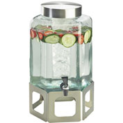 Cal-Mil 1111-55 Cutout Beverage Dispenser W/Ice Chamber 2 Gallons 10-3/4
