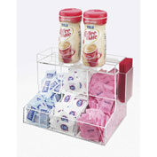 "Cal-Mil 786 Coffee Condiment Organizer 3 Section 12""W x 8""D x 9-1/4""H"