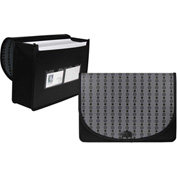 C-Line Products Extra Large Document Case, Fashion Circle Series - Pkg Qty 4