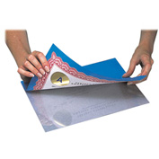 C-Line Products Super Heavyweight Cleer Adheer Laminating Sheets, Clear, 9 x 12, 50/BX