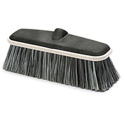 "Laitner 10"" Soft Split Tip Wash Brush Head w/Protective Bumper, 1/Case - 1102"