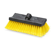 "Laitner 10"" Bi-Level Wash Brush Head w/Acme Hole, 1/Case - 1510"
