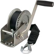 Reese® Towpower® Winch with 20' Strap & Hook 74329 - 1500 Lb. Cap.