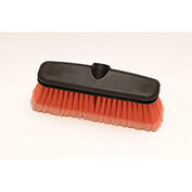 "Laitner 10"" Synthetic Acid Resistant Wash Brush Head w/Protective Bumper, 1/Case - 8055"