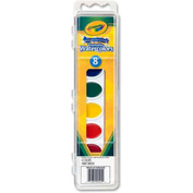 Crayola® Washable Watercolors Set, 8 Color Set