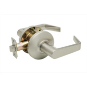 "Copper Creek Avery Grade 2 Cylindrical Lever Passage, 5""L x 2-3/4""H x 2-5/8""D, Satin Stainless"