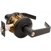 "Copper Creek Avery Grade 2 Cylindrical Lever Classroom, 5""L x 2-3/4""H x 2-5/8""D, Bronze"