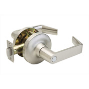 "Copper Creek Avery Grade 1 Lever Privacy, 5-5/8""L x 3""H x 2-5/8""D, Satin Stainless"