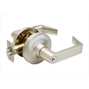 "Copper Creek Avery Grade 1 Lever Entry, 5-5/8""L x 3""H x 2-5/8""D, Satin Stainless"