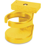 "Generations Adirondack Chair Cup Holder, Yellow, 6""L x 4""W x 4""H"