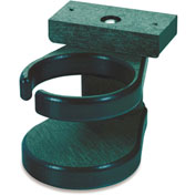 "Generations Adirondack Chair Cup Holder, Green, 6""L x 4""W x 4""H"