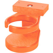 "Generations Adirondack Chair Cup Holder, Orange, 6""L x 4""W x 4""H"