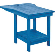 "Generations Tete A Tete Table, Blue, 18""L x 14""W x 21""H"